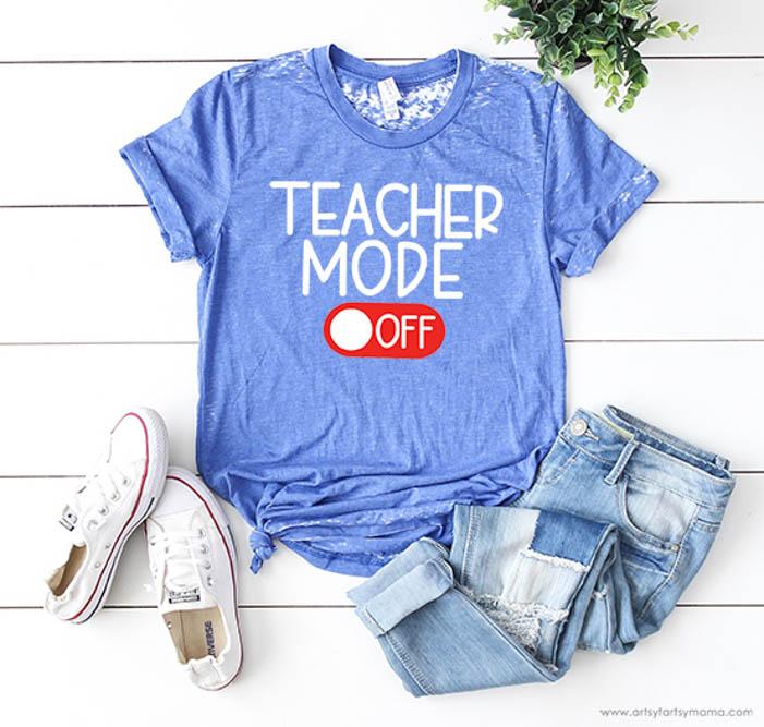 Teacher tshirt gift idea