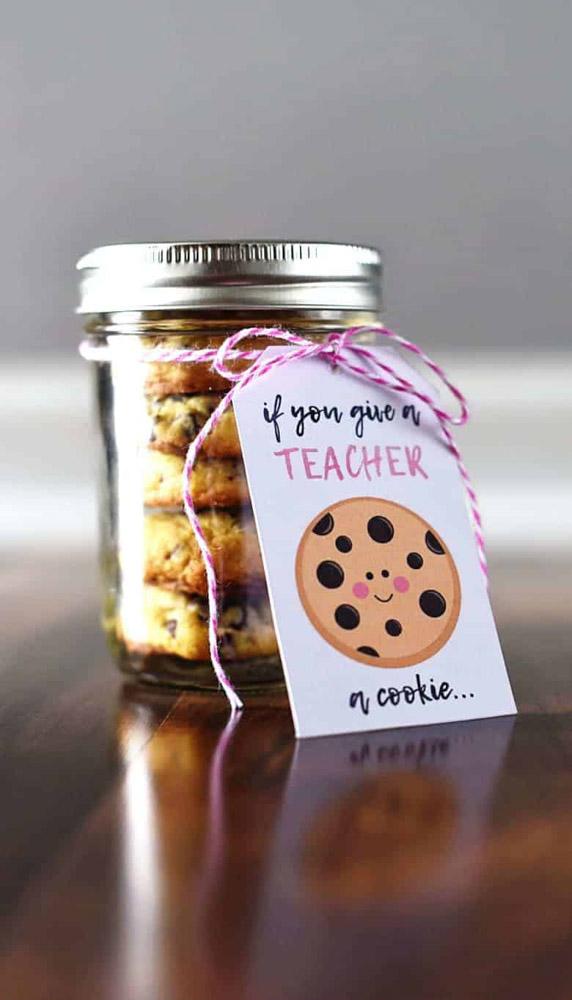 Teacher gift printable for male