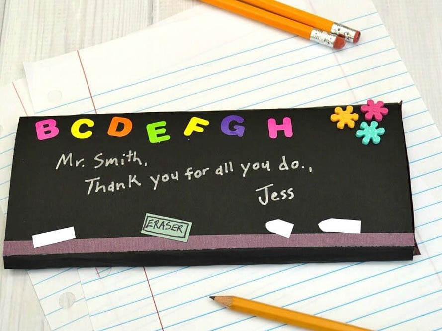 Candy teachers gift