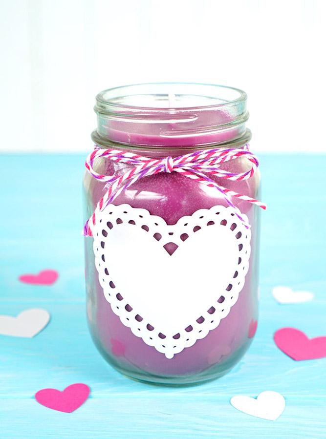 homemade mason jar gift for teacher