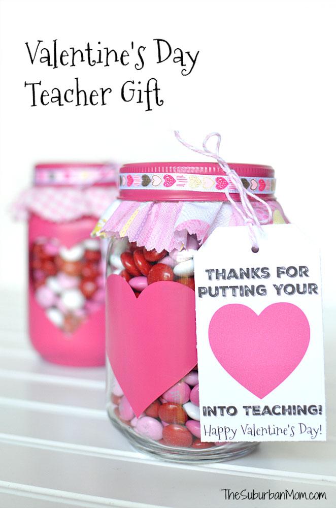 mason jar gift for teacher