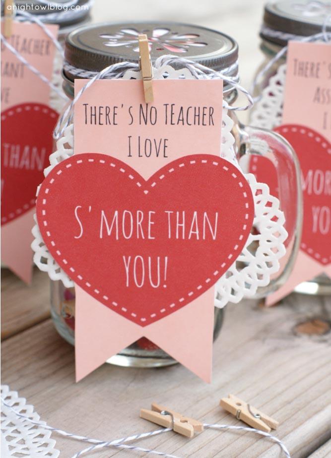 valentines teacher gift idea