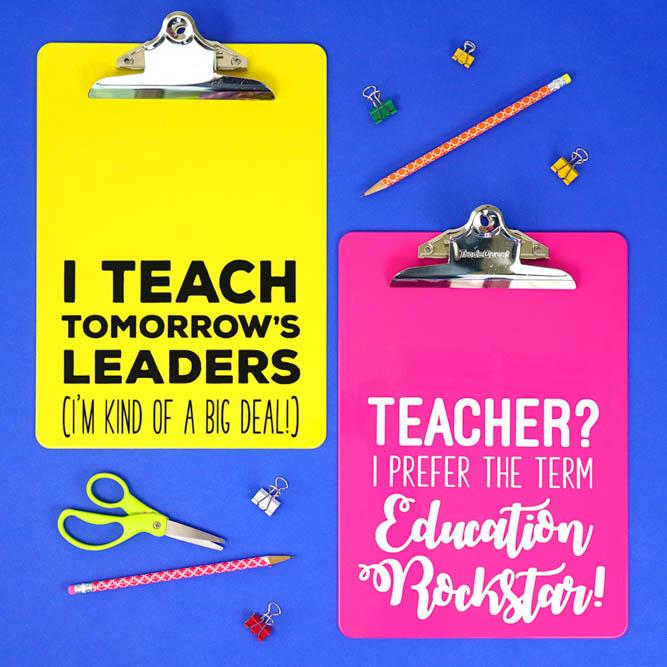 personalised teacher gift idea