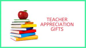 Appreciation Gifts Teachers