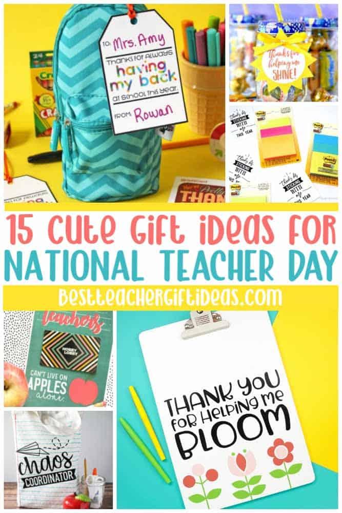Teacher day gift ideas