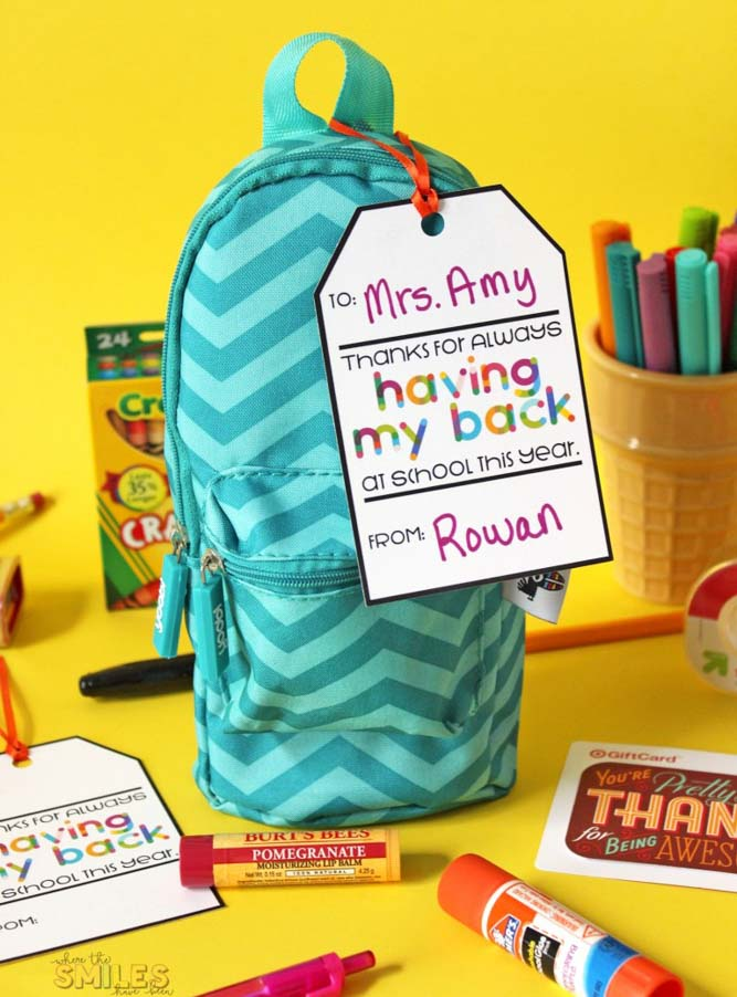 School Supply Gifts For Teachers