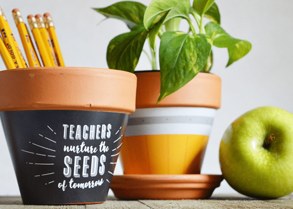 Plant Pot Teacher Gift