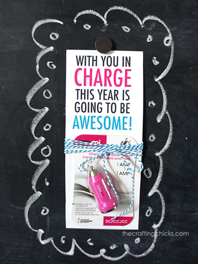 USB Charger Teacher Gift