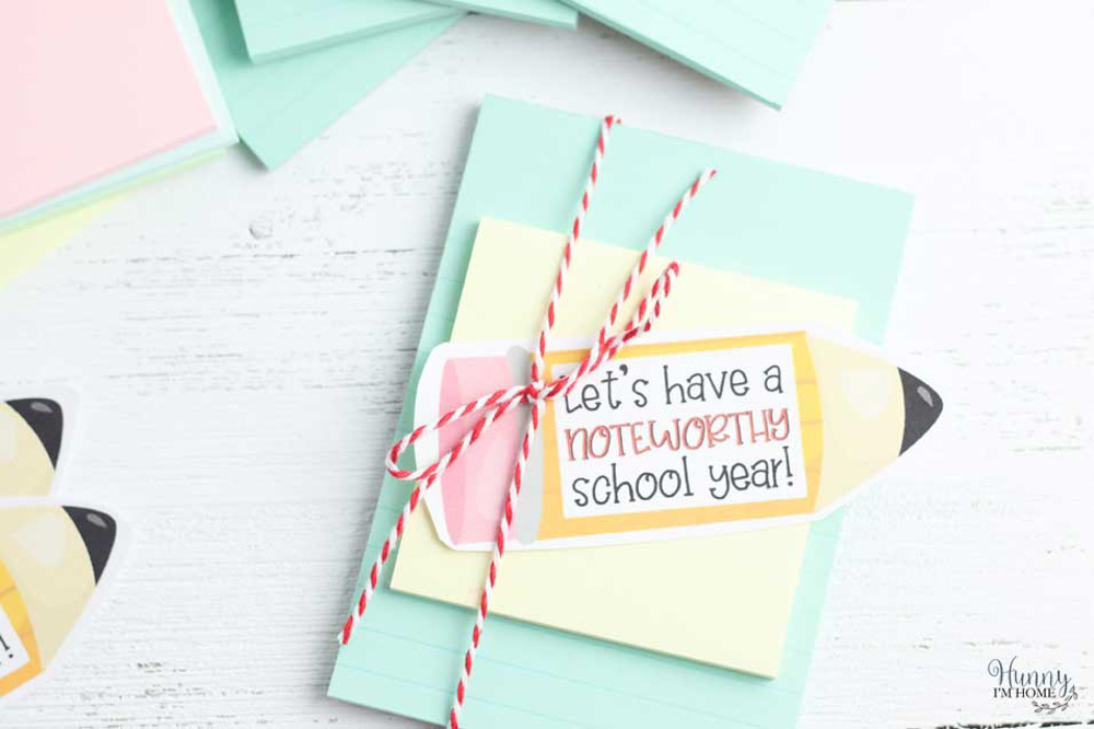Notepad Teacher Gift