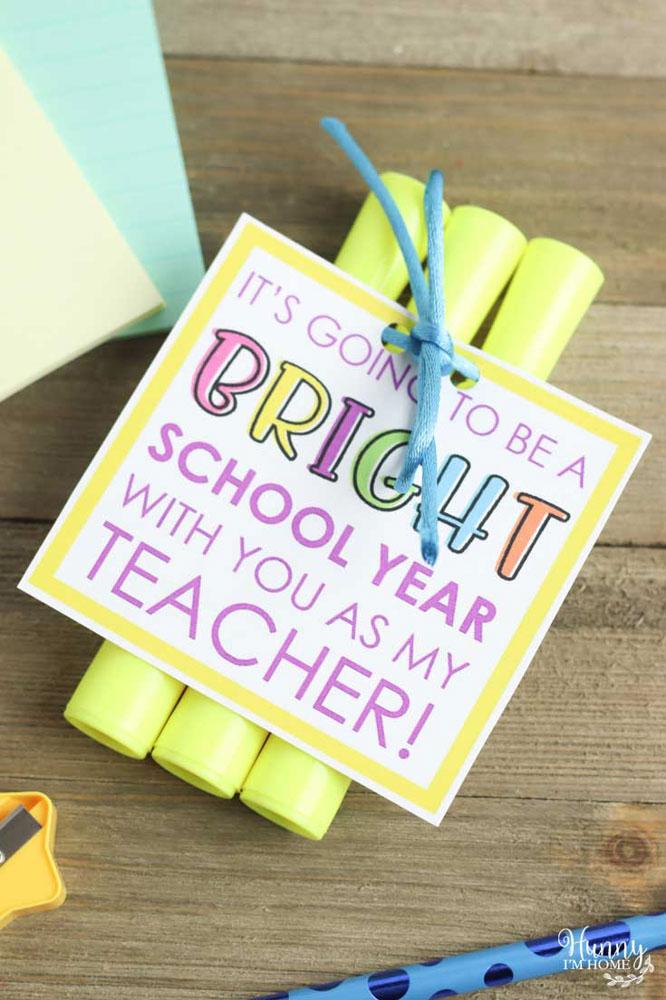 Highlighter Teacher Gift