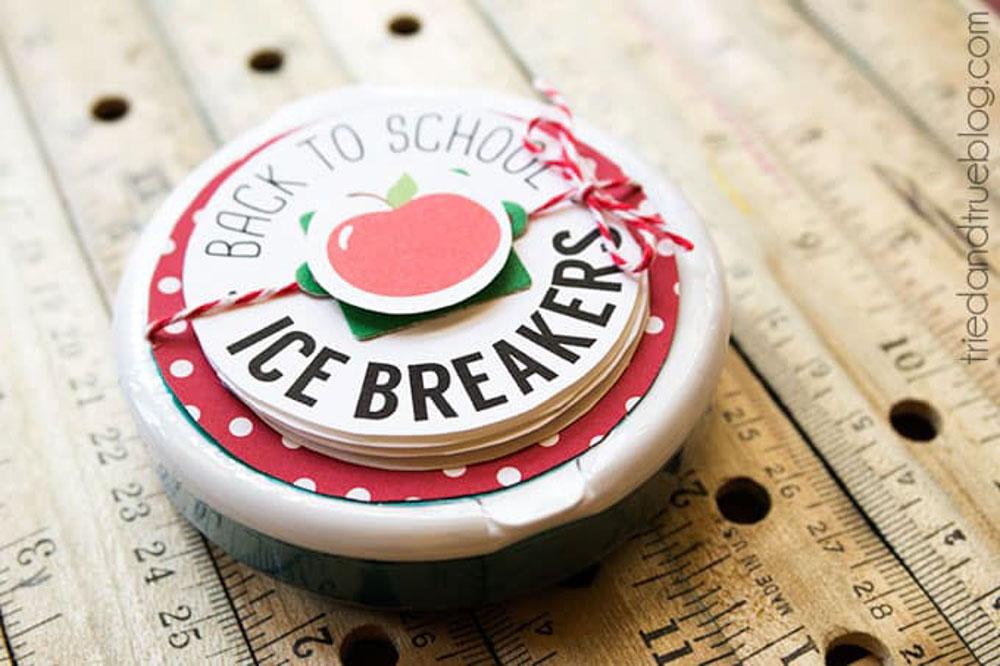 Ice Breaker Back to School Gift