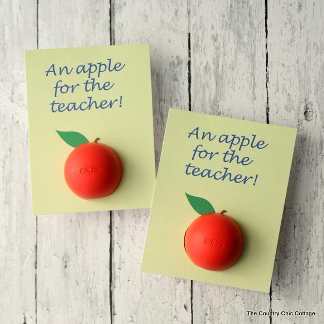 Lip Balm Teacher Gift