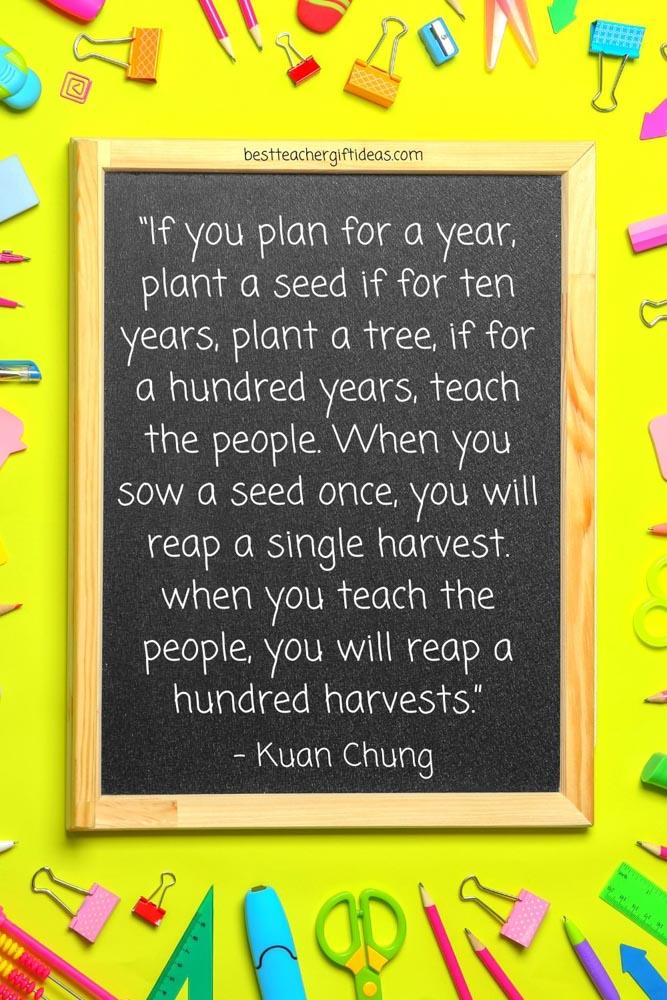 Chung Teacher quote