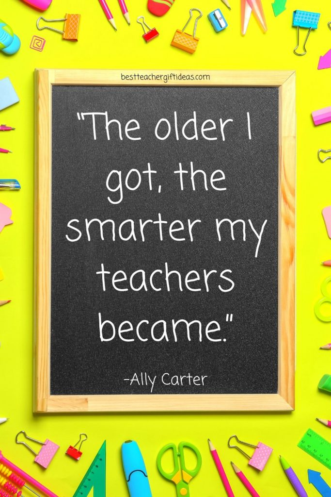 Quotes about smart teachers
