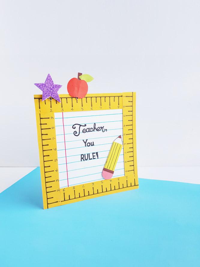 Teacher You Rule Gift