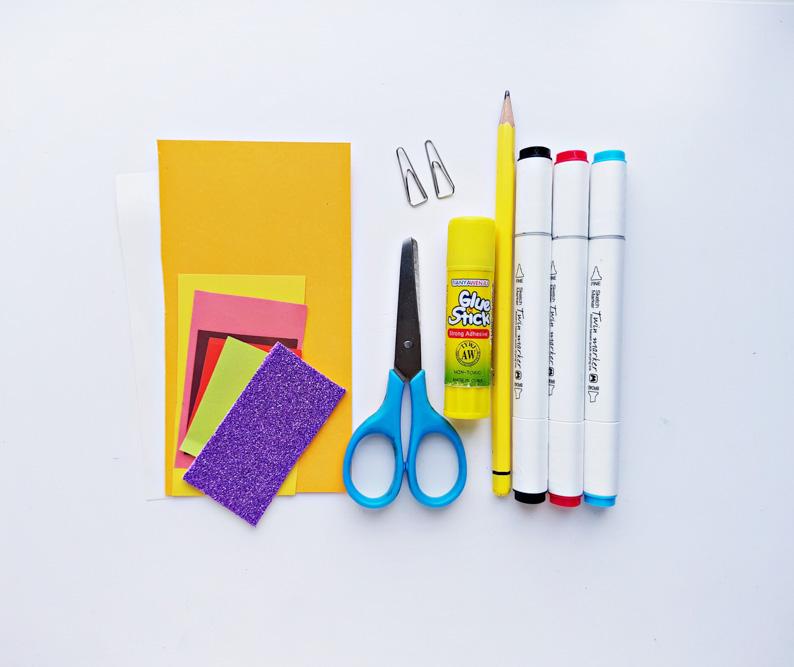 Teacher Appreciation DIY craft supplies