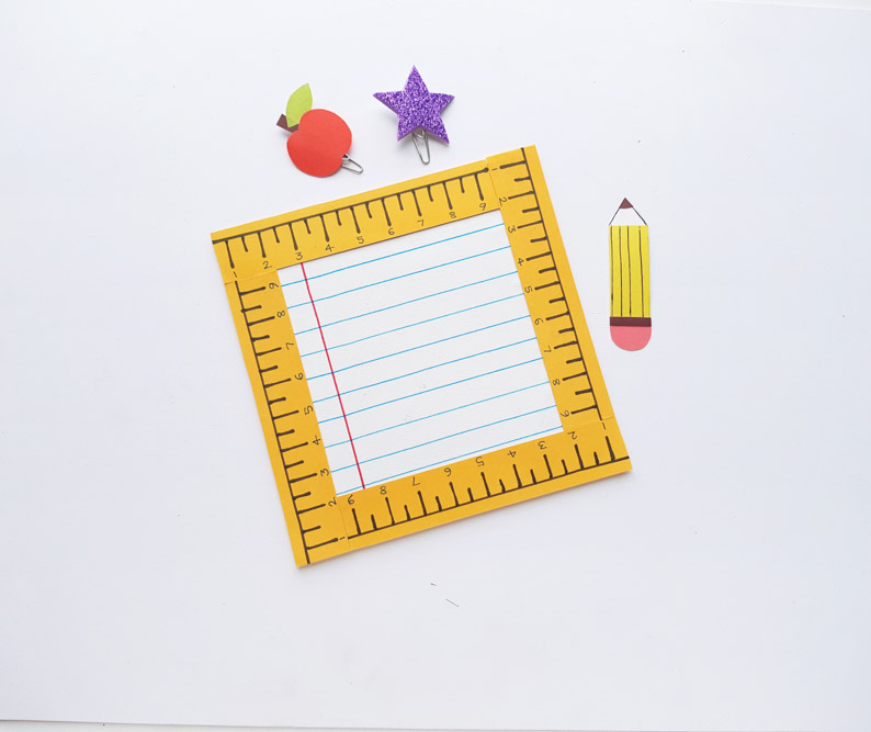 DIY Ruler Frame