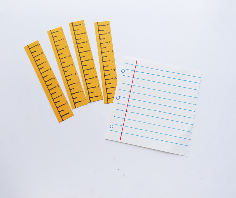 Ruler Frame For Teacher
