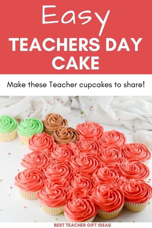 Easy Teacher Cake