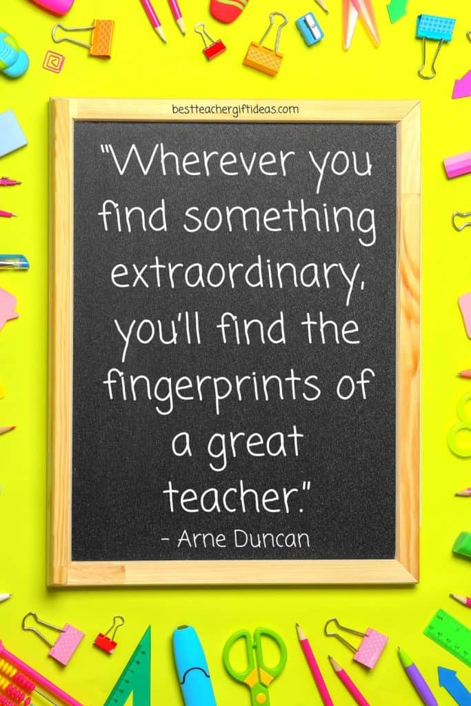 Quote About Extraordinary teacher